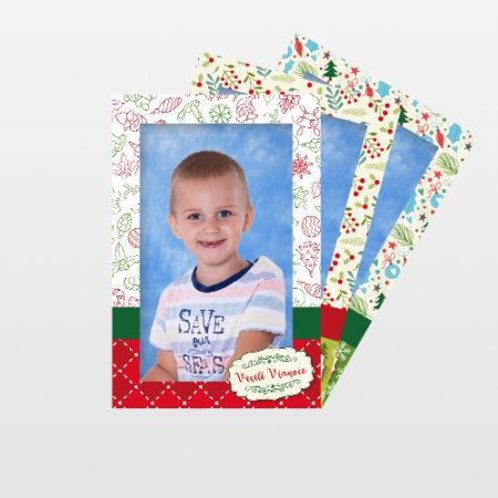 Portrétna fotografia Vianoce 3 ks