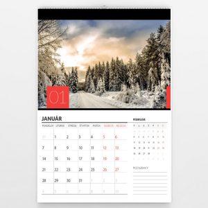 Kalendár veľký - Color square