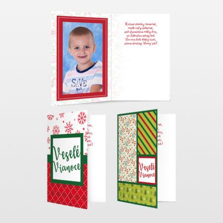 Pohľadnice Vianoce 3 ks