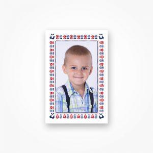 Portrétna fotografia ľudová 2 ks