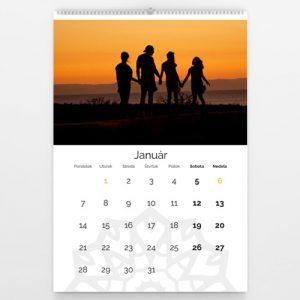 Kalendár veľký - Mandala