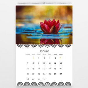 Kalendár veľký - Relaxačná Mandala