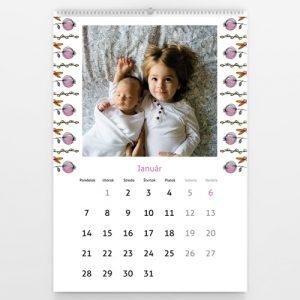 Kalendár veľký - Lúka plná kvetov