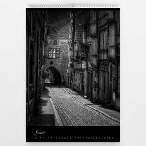 Kalendár veľký - Black