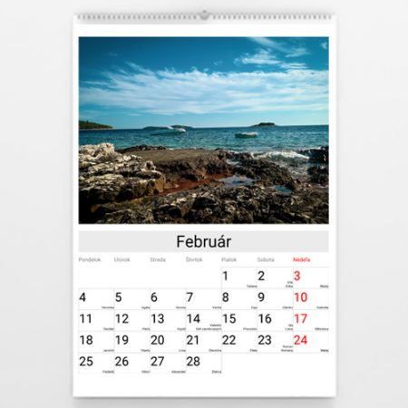 Fotokalendár 2020 na výšku