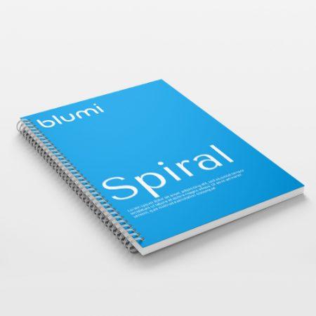 Brožúra s kovovým hrebeňom