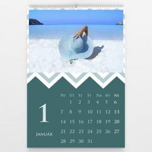 Kalendár veľký - Zig Zag