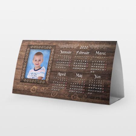 Fotokalendár 2021 stolový polročný 2 ks