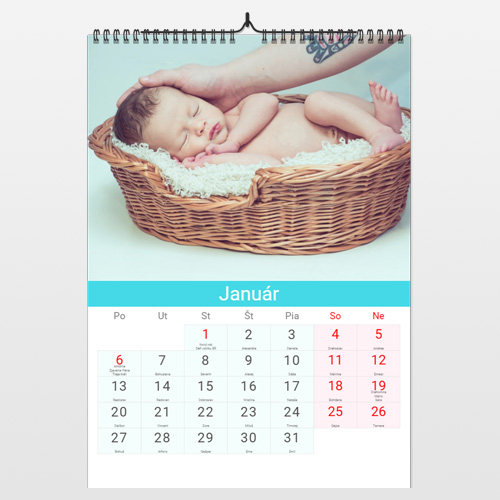 Nástenný fotokalendár