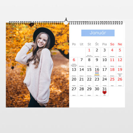 Fotokalendár 2021 na šírku
